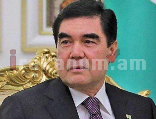 Անկախության տոնի առթիվ Արմեն Սարգսյանին շնորհավորել է Թուրքմենստանի նախագահը