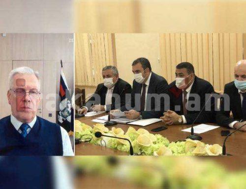 ՀՀ և ՌԴ սննդամթերքի անվտանգության կառույցների ղեկավարները քննարկել են ոլորտի խնդիրները