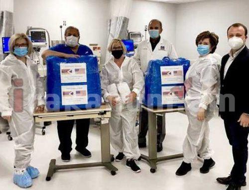 Արցախից մարդասիրական օգնությունը փոխանցվել է Լոս Անջելեսի «Chevy Chase» վիրաբուժության կենտրոն