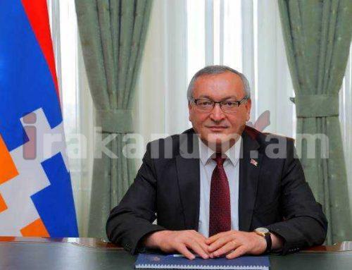 Արցախի ԱԺ նախագահի գլխավորած պատվիրակությունն աշխատանքային այցով Երևանում է