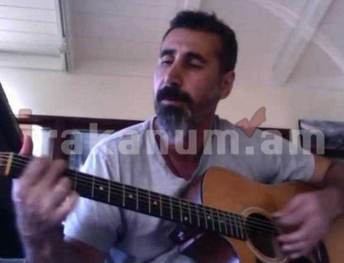 Սերժ Թանկյանը Artsakh Song երգով ոգևորել է Արցախում մարտնչող զինվորներին