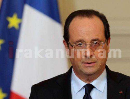 Ֆրանսիայի նախկին նախագահը կրակի դադարեցման կոչ է արել