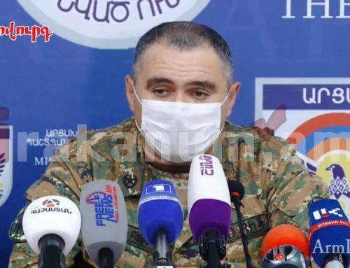 Հայկական կողմն ունի 48 զոհ, 200 վիրավոր. ՊԲ հրամանատարի տեղակալ