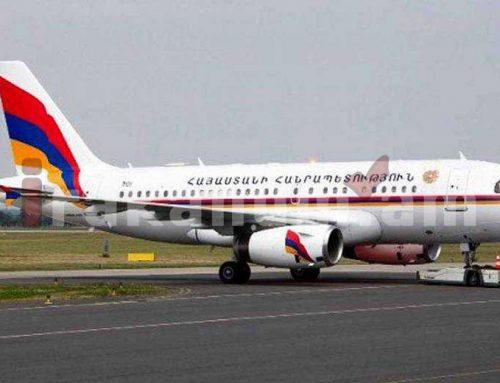 Վարչապետի ծառայողական ինքնաթիռի նշագծման համար 250.000 դոլար չի ծախսվել. տարածվող տեղեկությունը կեղծ է