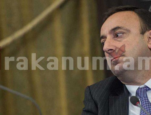 Հրայր Թովմասյանը կառաջադրվի՞