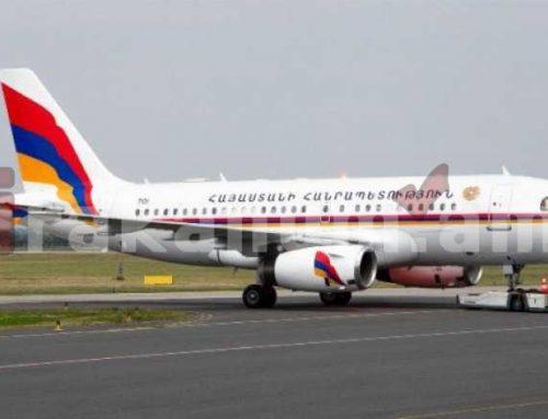 Ավելի քան 250 հազար դոլար՝ վարչապետին սպասարկող օդանավի նոր դիզայնի համար (լուսանկարներ)