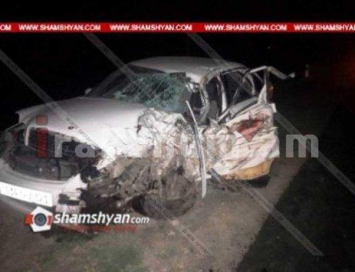 Խոշոր ավտովթար Գեղարքունիքի մարզում. բախվել են Mercedes Vario-ն ու Mercedes C240-ը. կան վիրավորներ