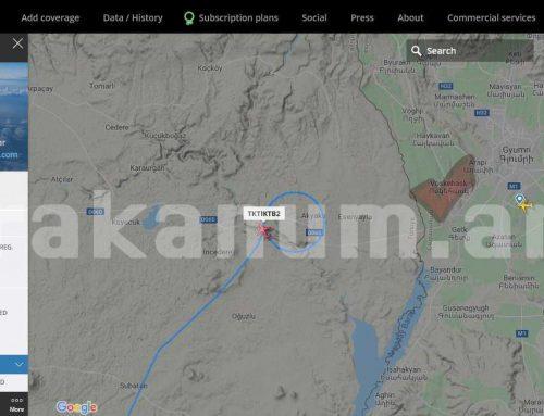 Թուրքական Bayraktar TB-2 մարտական անօդաչուն շրջում է Գյումրիի Շիրակի օդանավակայանի մերձակայքում․ Razminfo