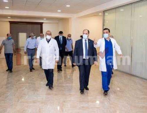 ԿԳՄՍ նախարար Արայիկ Հարությունյանն այցելել է «Միքայելյան» համալսարանական հիվանդանոց