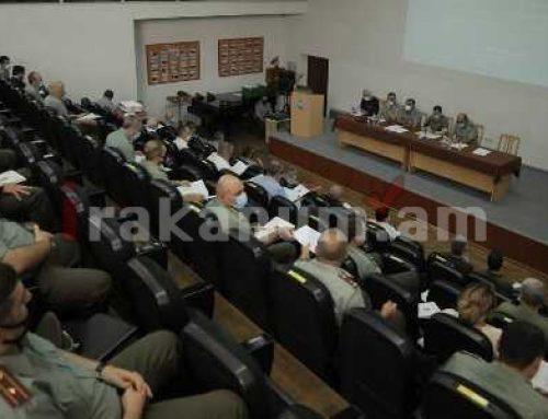 Կոնֆերանս Վ. Սարգսյանի անվան ռազմական համալսարանում