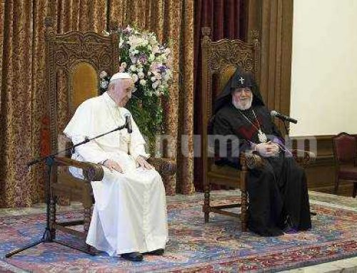 Ամենայն Հայոց Կաթողիկոսը մեկնեց Իտալիա. Հանդիպելու է Հռոմի Պապին