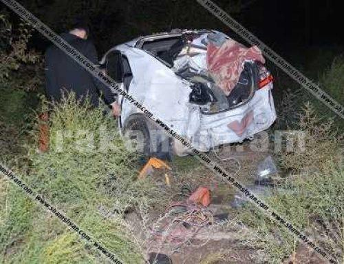 Խոշոր ու շղթայական ավտովթար Արմավիրի մարզում. բախվել են 5 մեքենա.նրանցից մեկը հայտնվել է գնացքի գծերի վրա