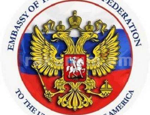 ՌԴ դեսպանատունն ԱՄՆ-ում կոչ է արել «չուռճացնել» հակառուսական տրամադրությունները հասարակությա մեջ