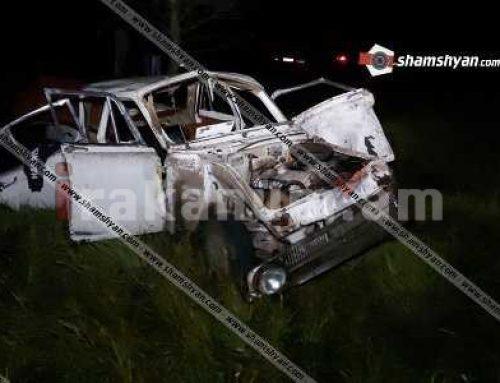 Լոռու մարզում 33-ամյա վարորդը «Մոսկվիչ 412»-ով կողաշրջվել ու հայտնվել է դաշտում. կա 1 զոհ, 2 վիրավոր (ֆոտո)