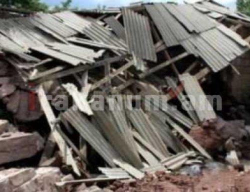 Շատին գյուղում փլուզվել է մանկապարտեզի շենքը. կա տուժած