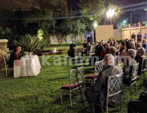 Զոհրաբ Մնացականյանի պաշտոնական այցը Եգիպտոս մեկնարկել է հայ համայնքի առաջնորդների և անդամների հետ հանդիպմամբ