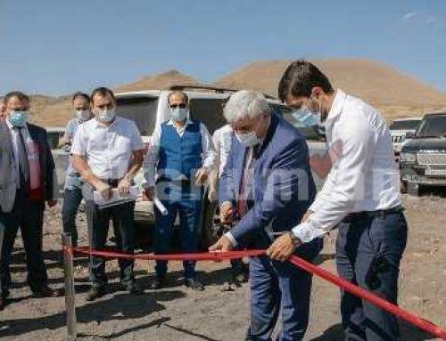 Հերհերում Հայաստանում ամենամեծ արեւային կայաններն են կառուցվում՝ ընդհանուր 20 մեգավատ հզորությամբ (ֆոտո)
