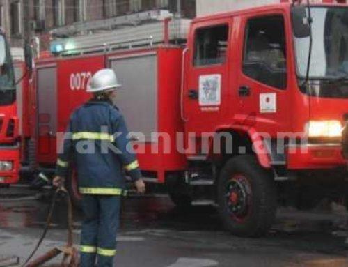 Աշտարակում ավտոտնակում բռնկված հրդեհը մարվել է. այրվել են «ՎԱԶ-2107»-ը, 2 անվադող, եռակցման սարք և մալուխներ