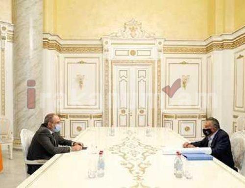 Վարչապետ Փաշինյանն Էդուարդո Էռնեկյանի հետ քննարկել է նախատեսվող նոր ներդրումային ծրագրերը