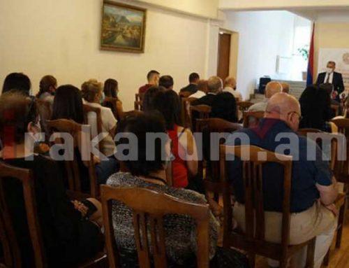 Աշոտ Խաչատրյանը Սահմանադրական դատարանի դատավորներին և աշխատակազմին ներկայացրեց դատարանի նորանշանակ դատավորներին