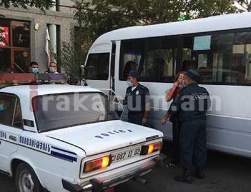 Հրմշտոց՝ Րաֆֆու փողոցում․ ոստիկանները դիմակ չկրելու համար մի կնոջ էին բռնել․ վերջինս փորձեց փախուստի դիմել, սակայն բերման ենթարկվեց (տեսանյութ) Aravot.am