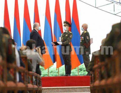 Հայաստանի նախագահը Անկախության տոնին պարգևատրում է տարբեր բնագավառների ներկայացուցիչների
