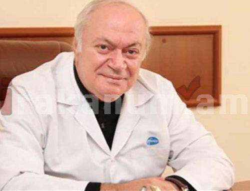 Կյանքից հեռացել է բժիշկ, բժշկական գիտությունների դոկտոր,Հայաստանի նախկին առողջապահության նախարար Նորայր Դավիդյանցը
