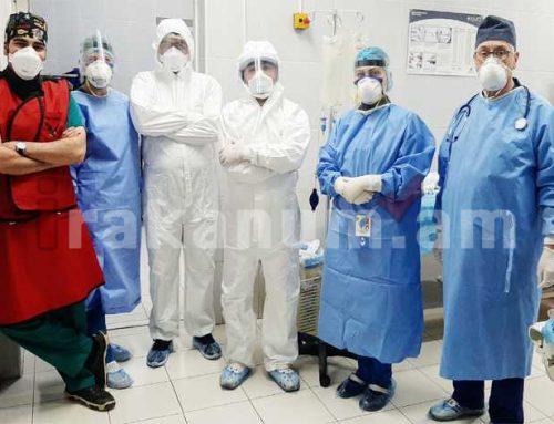 Համալսարանական նյարդավիրաբույժները կատարել են COVID-19-ով հիվանդի առաջային կապակցող զարկերակի պատռված պարկաձև անևրիզմայի բուժում