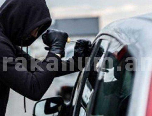 Վանաձորում փախցրած մեքենան հայտնաբերվել է Գյումրիում