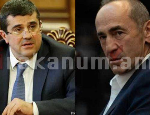 Ես կերազեմ լինել ՀՀ ղեկավարի ենթակա, երբ Արցախը կդառնա Հայաստանի մաս. Արցախի նախագահի պատասխանը Ռոբերտ Քոչարյանին
