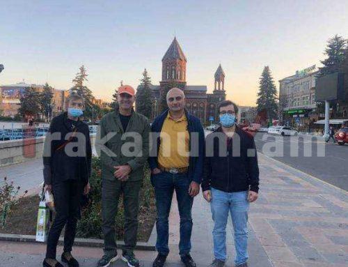 Ֆրանսիայից Հայաստան ժամանած բժիշկները մեկնում են կրկին վերադառնալու պատրաստակամությամբ