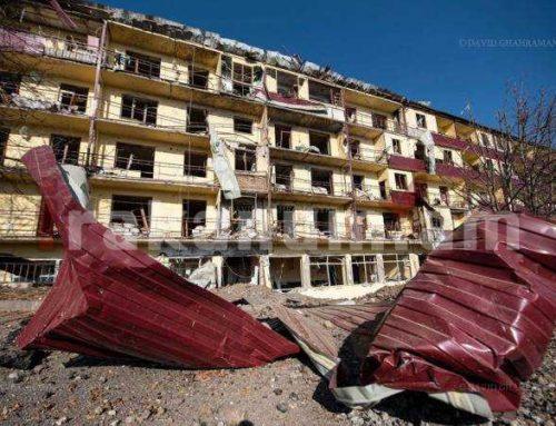 Հրապարակվել է հրթիռակոծության հետևանքով Շուշիին պատճառված նյութական վնասի մասին տեսանյութ
