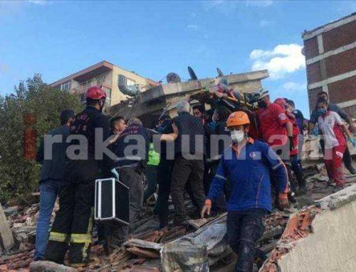 Իզմիրում տեղի ունեցած երկրաշարժի հետևանքով զոհվերի թիվը հասել է 6-ի