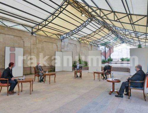 Արմեն Սարգսյանն ընդունել է Բելգիայի խորհրդարանի Ներկայացուցիչների պալատի անդամ Ժորժ Դալմանին