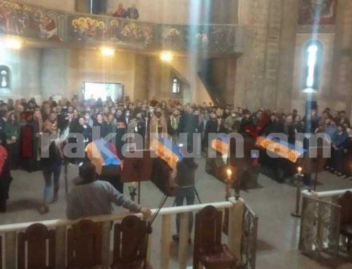 Վանաձոր և Շիրակամուտ համայնքներում հրաժեշտ են տվել Արցախում զոհված զինծառայողներին