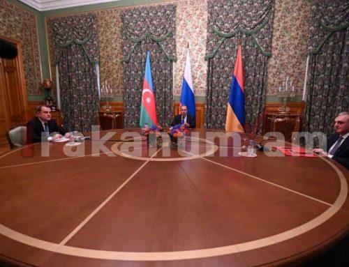 Ուղիղ միացում Մոսկվայից. ՌԴ, ՀՀ և Ադրբեջանի արտգործնախարաների հանդիպումը Լեռնային Ղարաբաղի հարցով