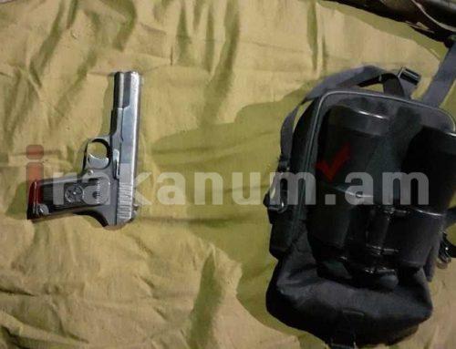 Ռազմական ոստիկանները հայտնաբերել են զենք-զինամթերք. ՀՀ ՊՆ