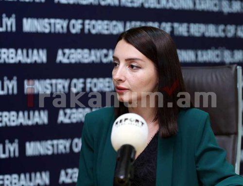 Ադրբեջանի ԱԳՆ խոսնակն ասել է, որ «սա պատերազմի ավարտ չէ»