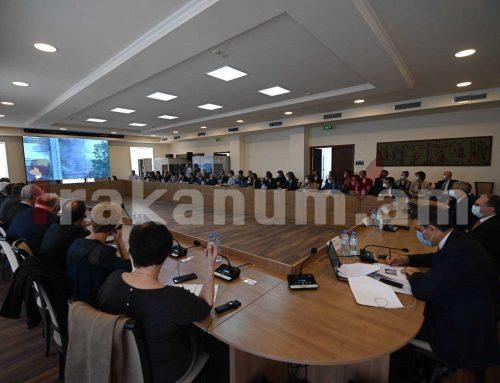 ՀՀ եւ ԱՀ ԱԳ նախարարներն ու ՄԻՊ-երը դեսպաններին են ներկայացրել Արցախի դեմ Ադրբեջանի ագրեսիայի հետեւանքները