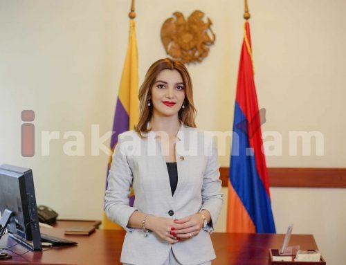 Հայաստանի միակ կին քաղաքապետս կամավորագրվում եմ Հայրենիքի պաշտպանությանը