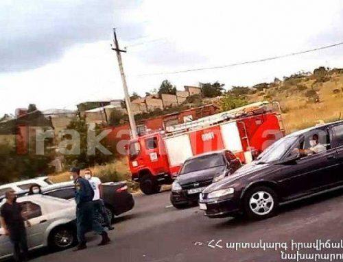 Աշտարակ-Ապարան ավտոճանապարհին 3 մեքենա է բախվել. կան տուժածներ