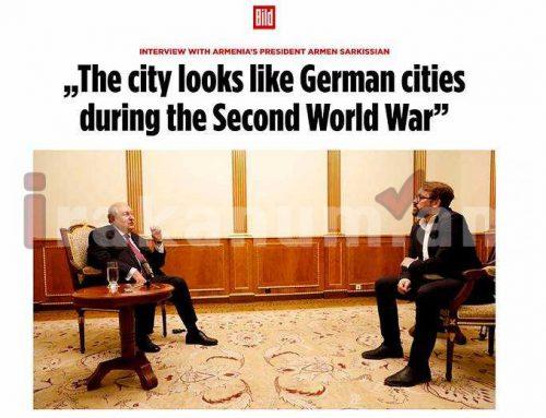 Գերմանիայի, Եվրամիության, ՆԱՏՕ-ի կողմից ավելի խիստ արձագանք պետք է լիներ Թուրքիայի նկատմամբ. ՀՀ նախագահ