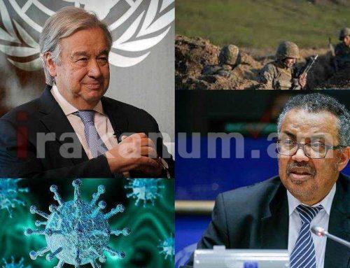 Չի հաղթում Հայաստանը, չի հաղթում Ադրբեջանը, հաղթում է COVID-19-ը. ՄԱԿ գլխավոր քարտուղար