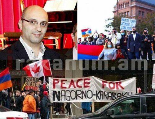 Մահաբեր զենքի դետալներ չտալ Թուրքիային, ճանաչել Արցախի անկախությունը. Օտտավայում այսօր հզոր ցույց եւ երթ է սպասվում