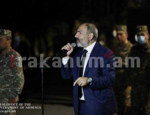 Դիմիր քո զինկոմիսարիատ, սիրելի եղբայր և հիշիր՝ Հայաստանի ապագան կախված է մեկ մարդուց և այդ մեկ մարդը Դու ես․ Փաշինյան