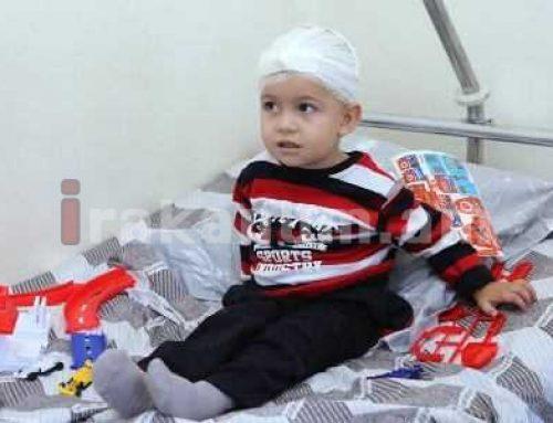 Ադրբեջանական ռմբակոծությունից վիրավորված 2-ամյա Արծվիկը դուրս է գրվել հիվանդանոցից