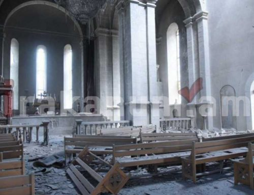 Շուշիի եկեղեցուն հարվածելիս իմացել են, որ ներսում երեխաներ են, կանայք, տարեցներ