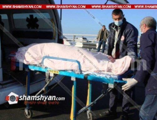 Ողբերգական դեպք Երևանում. Երևանյան լճի մոտ՝ գազախողովակից կախված հայտնաբերել են 32-ամյա տղամարդու դի