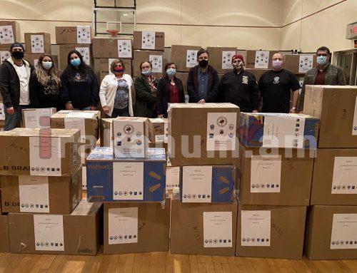 Արեւելյան Ամերիկայի ՀՅԴ կառույցը ավելի քան 2 տոննա բժշկական պարագաներ է ուղարկել Երևան