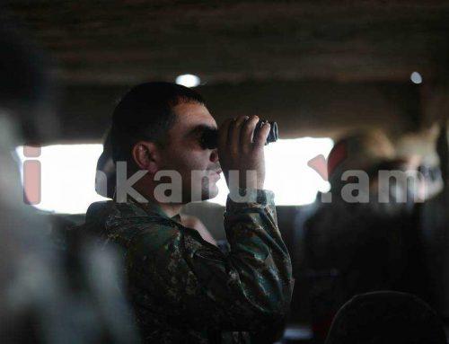 Մեր խիզախ ու արիասիրտ զինվորները (լուսանկարներ)